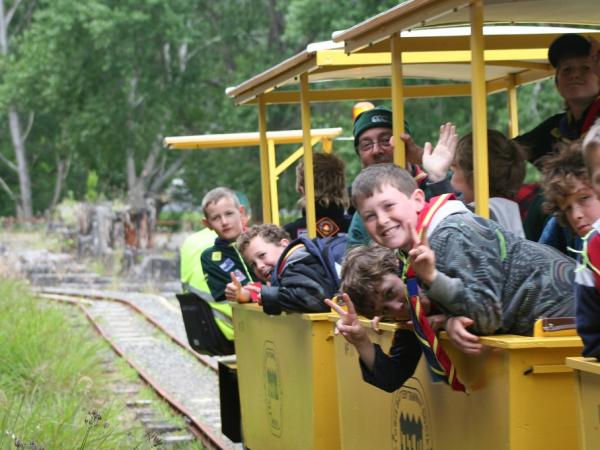 Carriages of Happy Children